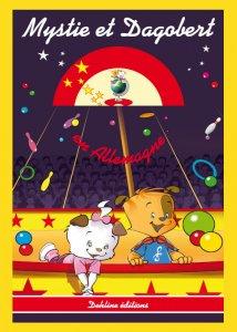 Mystie et Dagobert en Allemagne - livre pour enfant