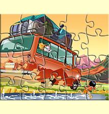 Puzzle 20 pièces, jeu gratuit